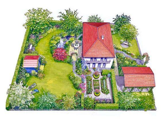Geschickte Planung Fur Einen Neuen Garten Garten Vertikaler Garten Diy Garten Anlegen