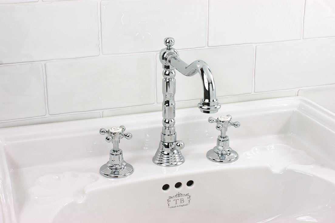 Armatur Retro Waschbecken Waschtischarmatur Traditionelle Bader Waschbecken
