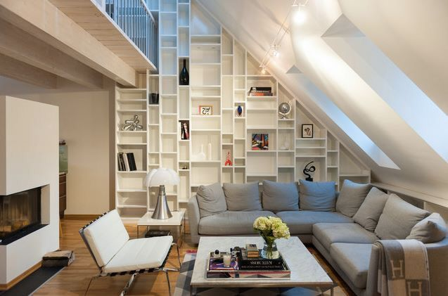 Pin by Alison Frances Kerr Robinson on Livingroom Pinterest House - küche in dachschräge