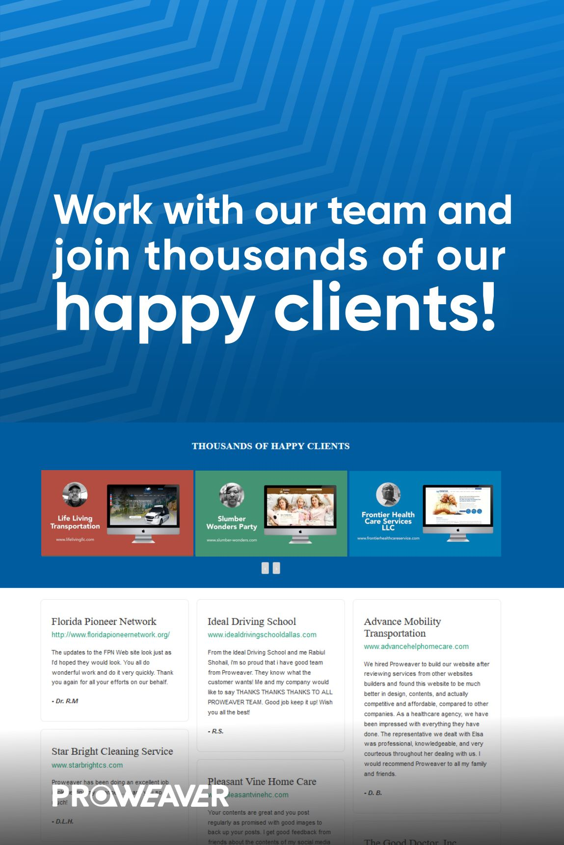 Custom Web Design Affordable Free Layout Proweaver Inc In 2020 Web Design Custom Web Design Custom Website Design