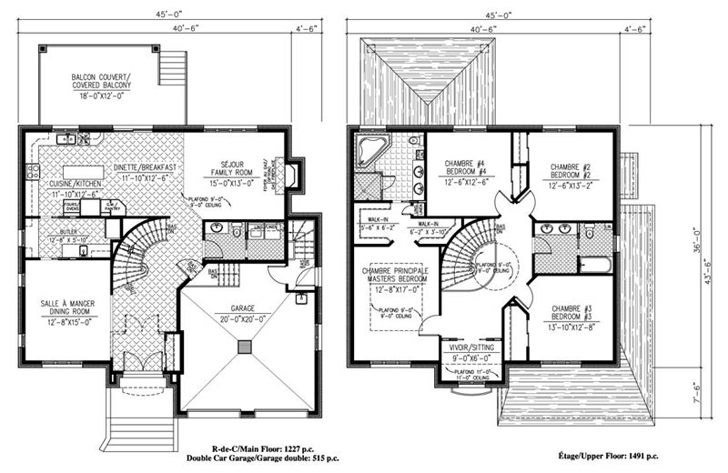Architecture Plan De Maison 10 Architecte Great Ordinary ...