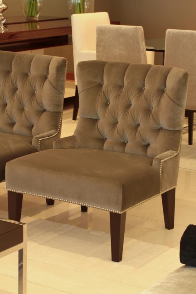 Silla clásica capitoné génova   sillas clásicas   sillas tapizadas ...
