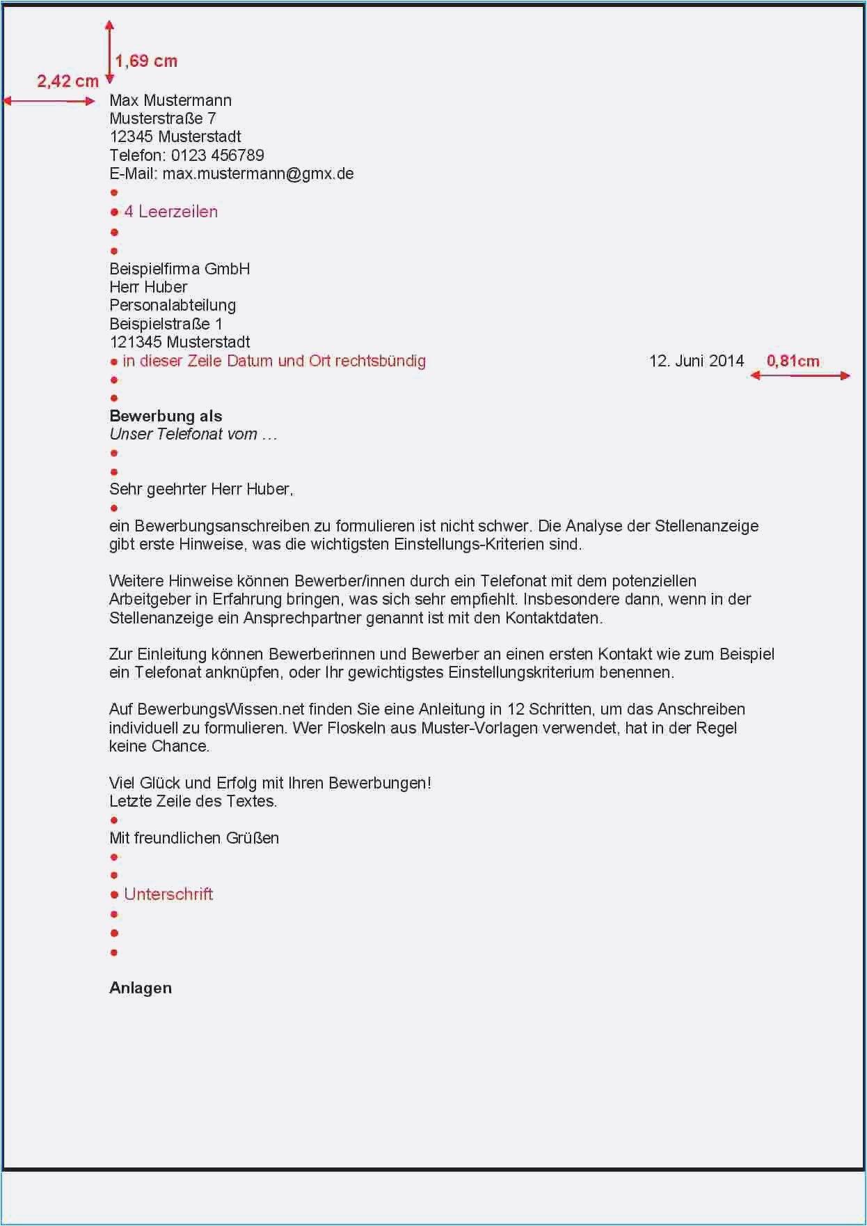Geschaftsbrief Vorlage Nach Din 5008 In Word 4