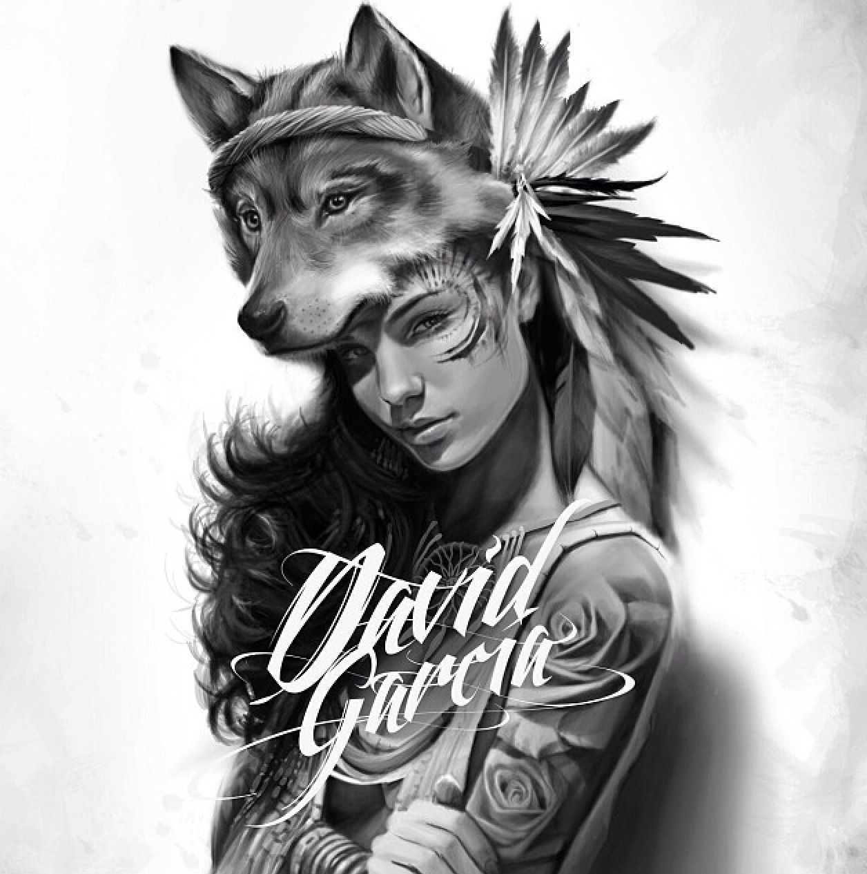pin by bleu beauty on david garcia pinterest tattoos wolf tattoos and tattoo designs
