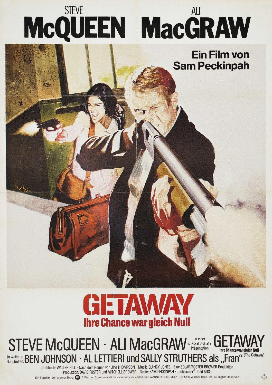 The Getaway  German Poster