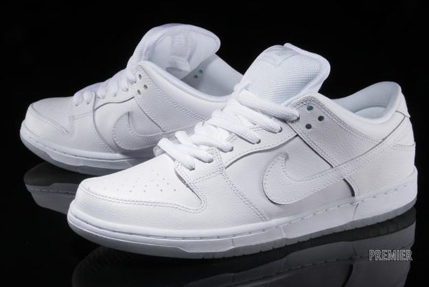 Nike SB Dunk Low White Ice  6dc4f1f08
