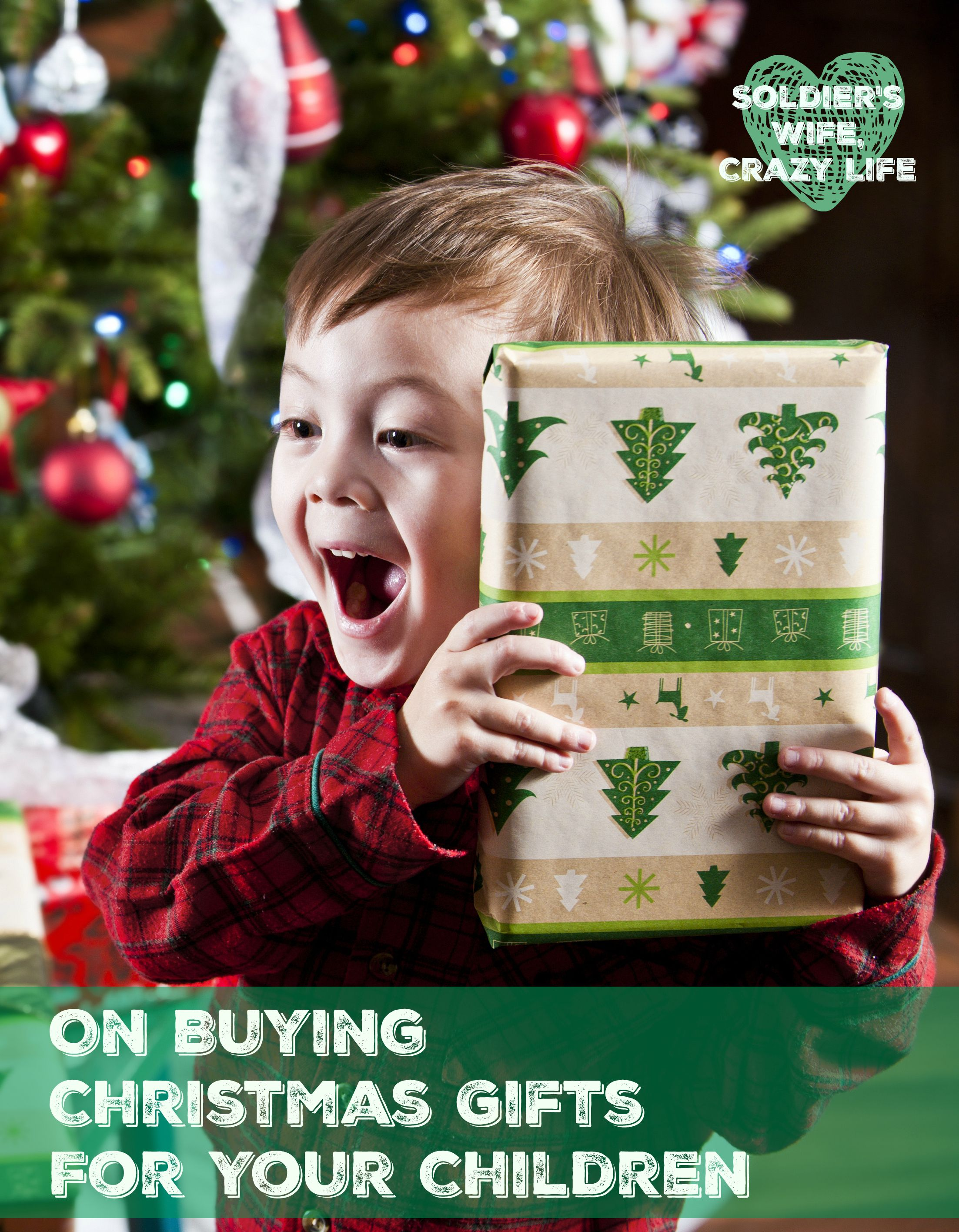 On Buying Christmas Gifts For Your Children | Christmas | Pinterest ...