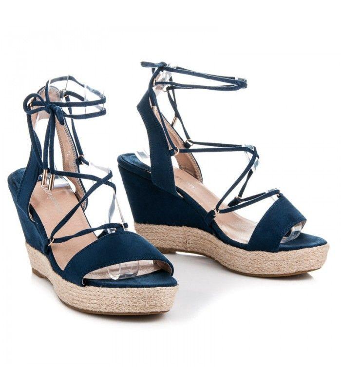 a7cc31a47784a Ploché sandále staroružové espadrilky s cvokmi | Dámske sandále | Sandále