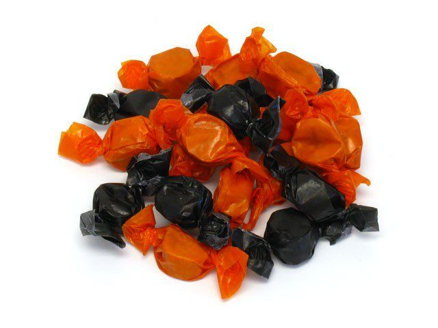 Butter Orange Peanut Candy Black And