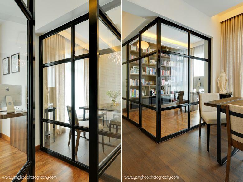 R Salvabrani Room Partition Room Door Design Living Room Partition Design
