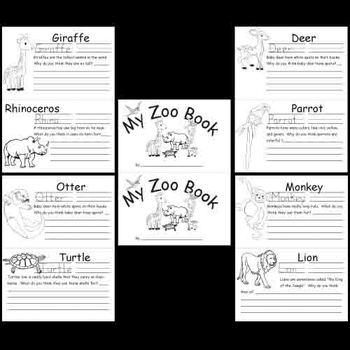 Kindergarten Zoo Animals Worksheets Animal Worksheets Zoo Lessons Zoo Animals