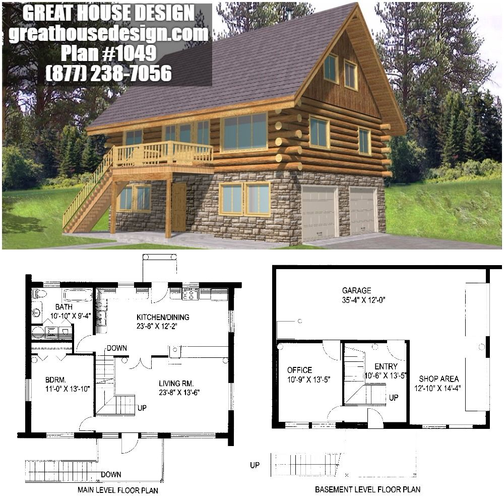 Home Plan 001 1049 Home Plan Great House Design Cottage Floor Plans House Plans Cabin Floor Plans