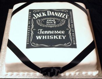 Cake Whiskey Jackdaniels Sarah Messick Kuchen Kuchen