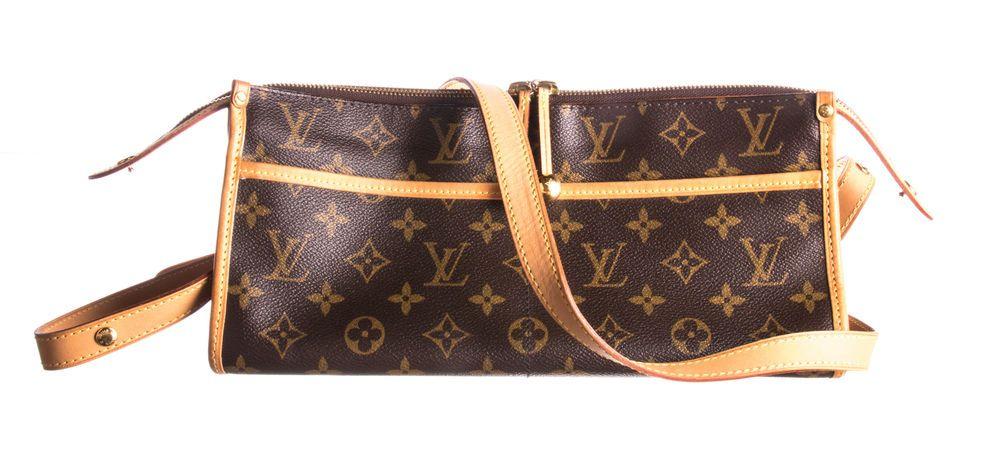 ed392ecb0469 LOUIS VUITTON Brown Monogram Canvas Popincourt Long Bag  fashion  clothing   shoes  accessories  womensbagshandbags (ebay link)