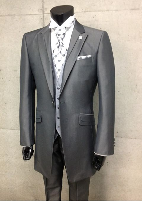 2013 New Designed 100% wool Gray Wedding tuxedos for men/Prom suit ...