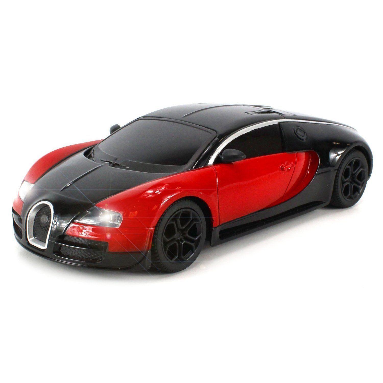 Velocity Toys Diecast Bugatti Veyron Super Sport Electric RC Car Full Metal  Body 1:24
