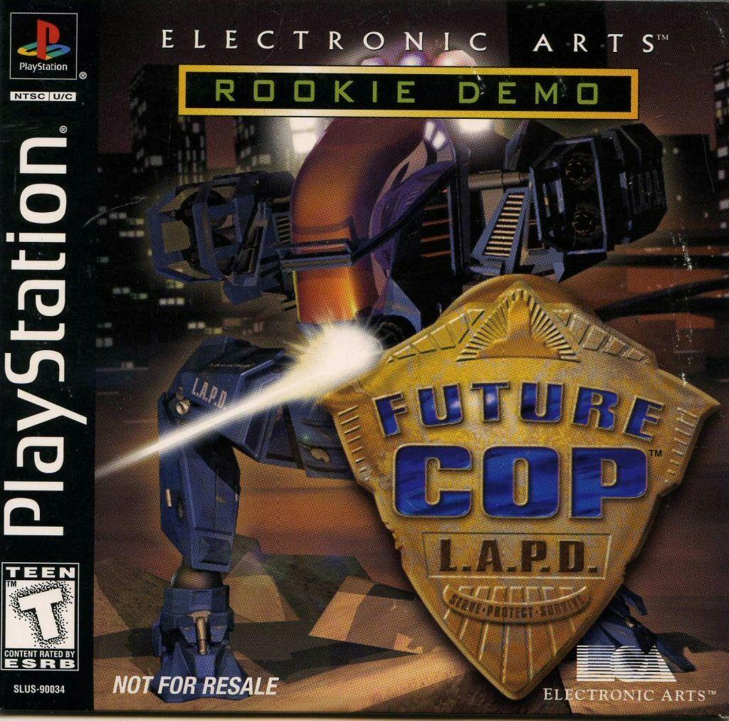 Future Cop L A P D Rookie Demo Ps1 Lapd Personal History Statement