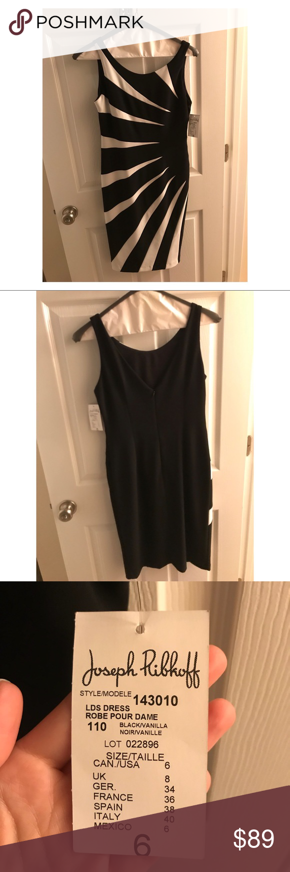 Joseph Ribkoff dress NWT | Pinterest | Customer support and Delivery