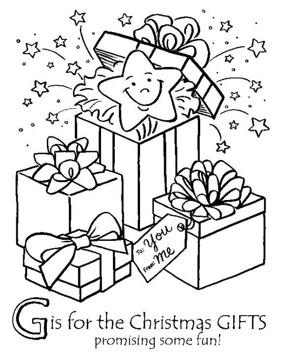 16 Free Christmas Colouring Pages For Children Christmas Gift
