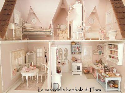 Mobili Per Casa Delle Bambole Fai Da Te : The orchid the robin nest cottage miniatures