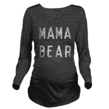 Mama Bear Long Sleeve Maternity T-Shirt