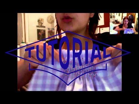 Couture - Les fronces et Smocks - YouTube