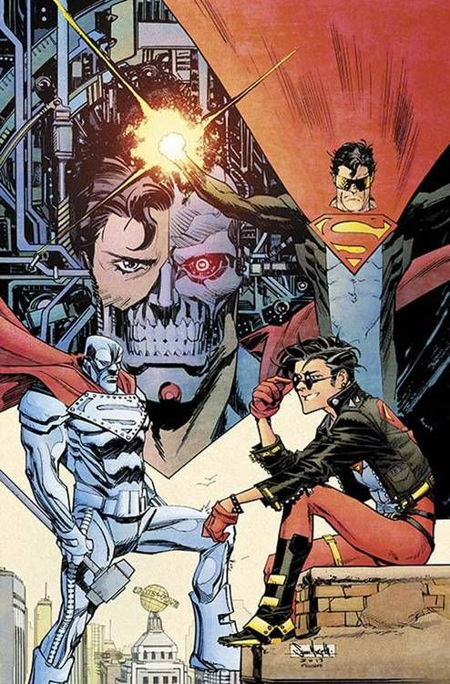 Superman Unchained #6 Superman Reborn Sean Murphy Variant