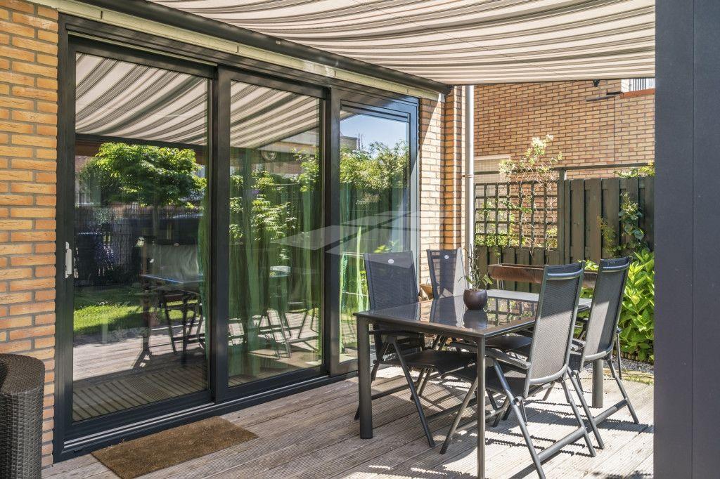 Aluminium schuifpui uitbouw patios and house