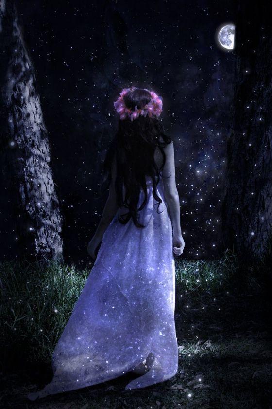чаще нам лунная ведьма фото жизнь кипела
