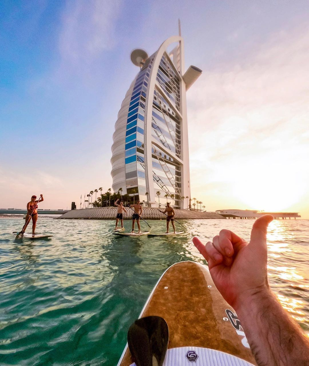Location:Dubai, United Arab Emirates Photo@ R_duds #paddle