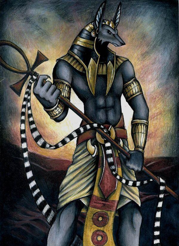 Anubis Era Uno De Los Dioses Mas Antiguos Del Panteon Egipcio Y