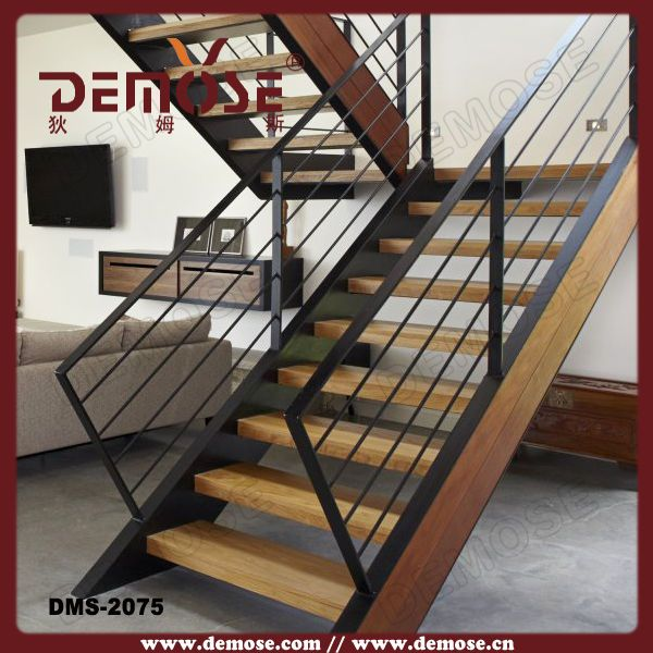 Best Indoor Cheap U Shape Mild Steel Stairs Steel Stairs 400 x 300