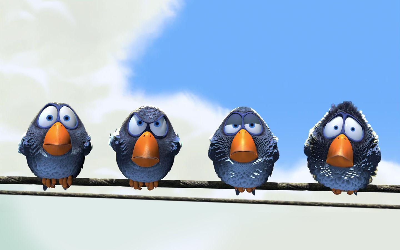Cartoon Excellence For The Birds For The Birds Pixar Cartoon
