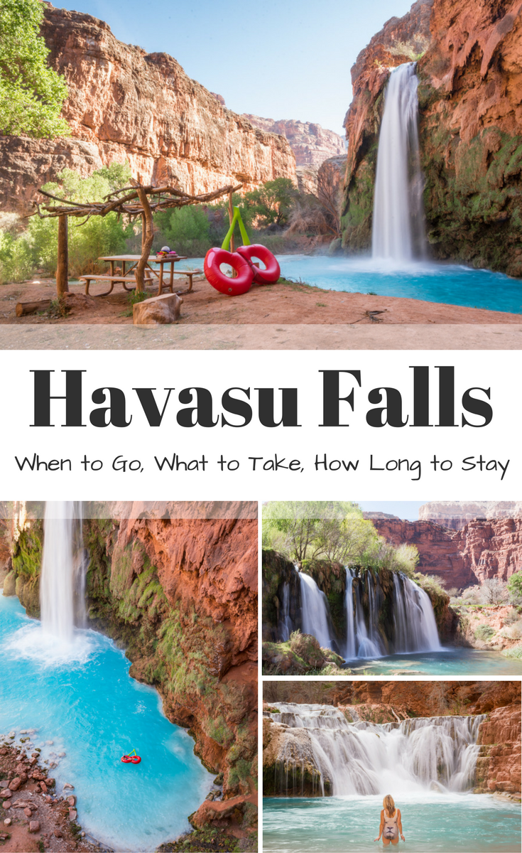 Hike to Havasu Falls [2020]: How to get Permits, When to Go, What to Take