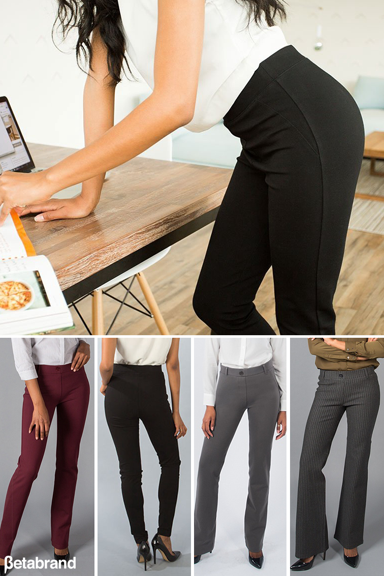4d6788b4d4c51 Click the Pin Above>> Dress Pant Yoga Pants combine sophisticated styling  with a soft, stretch performance knit. These will be the MOST COMFORTABLE  PANTS ...