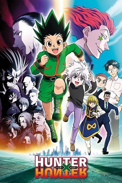 hunter x hunter poster manga anime tv
