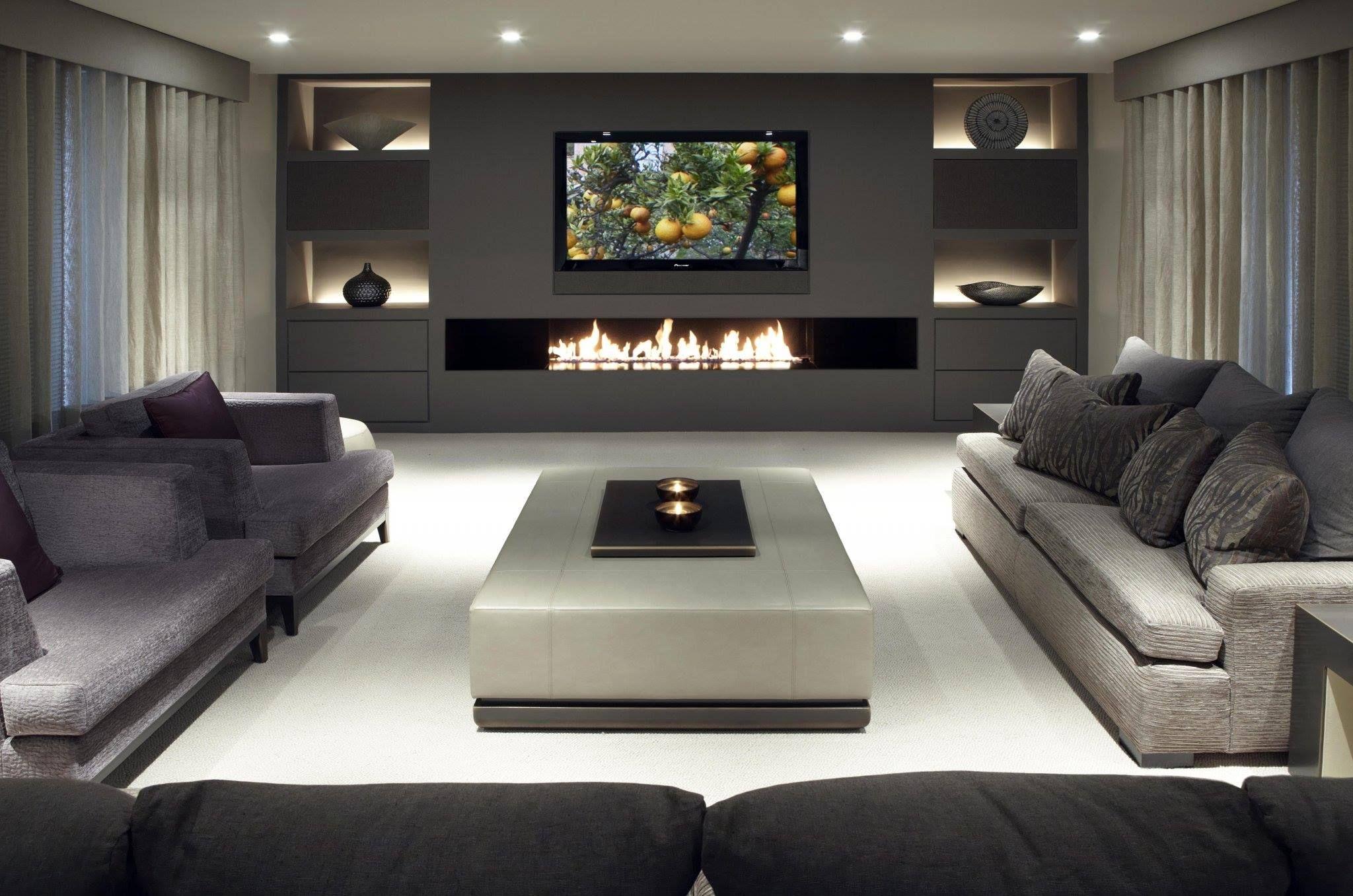 Elegant Modern Livingroom Trendy Living Rooms House Interior Home Decor