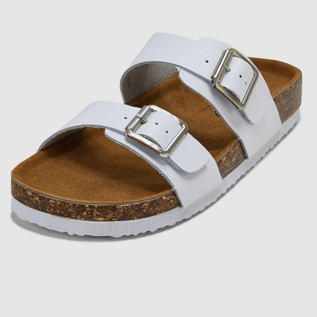 Mossimo Kelly Footbed Sandal - White