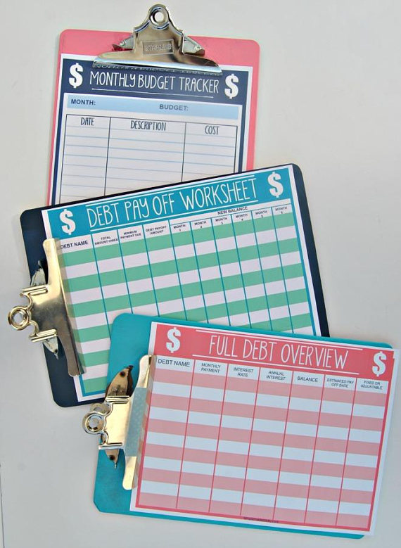 Pin by Julie Cimity on Printables Pinterest Monthly budget - budget forms