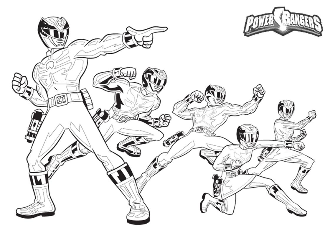 Disegni Da Colorare Power Ranger Super Samurai