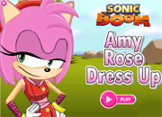Sonic Boom Amy Rose Dress Up