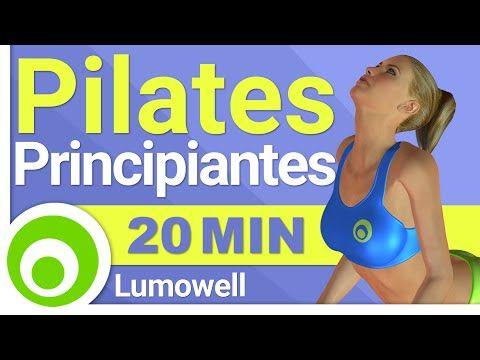 Rutina de Pilates de 20 Minutos para Principiantes, Ejercicios par un Cuerpo Delgado y tonificado - YouTube #pilatesvideo