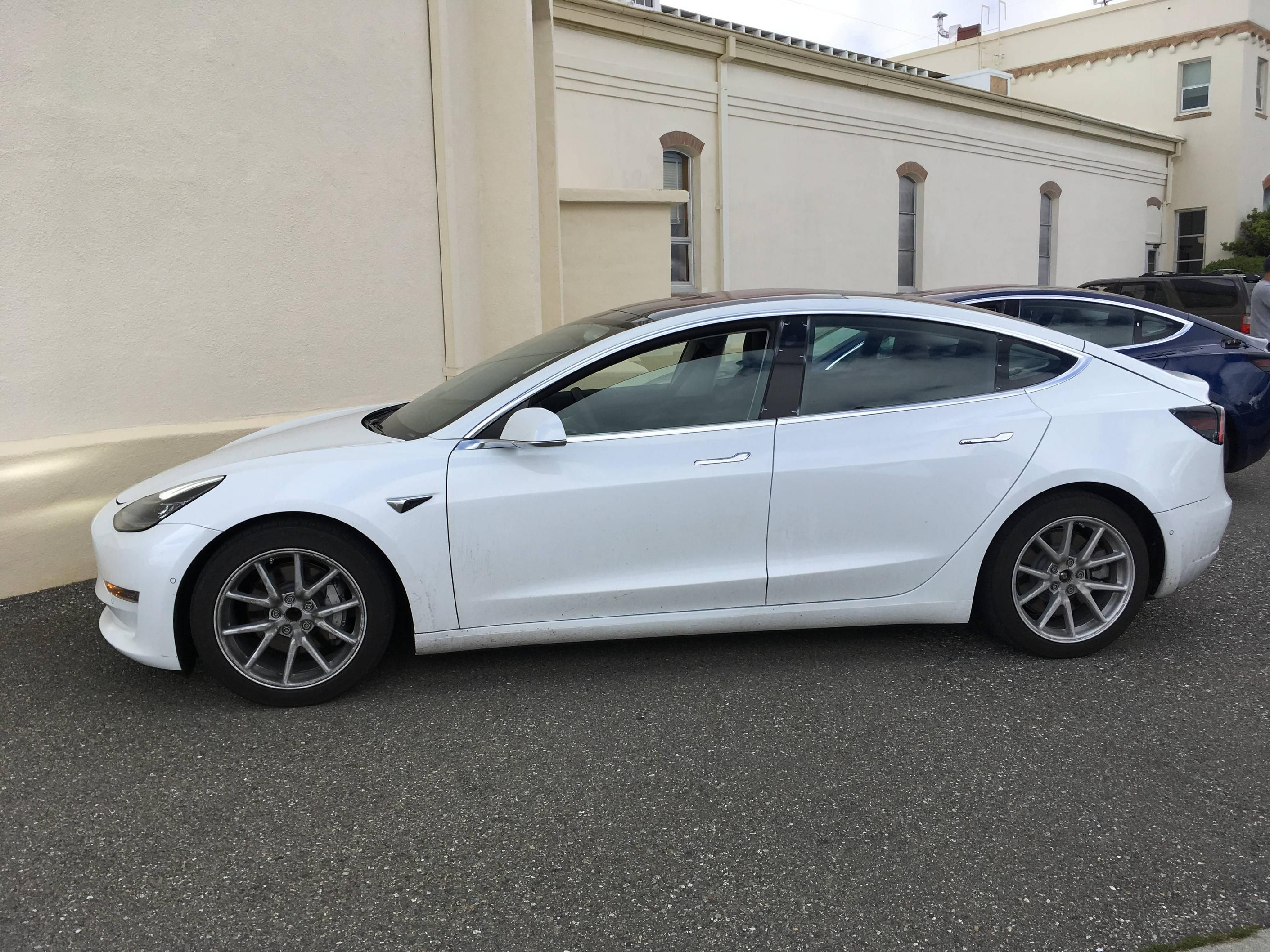 Tesla Model 3 White