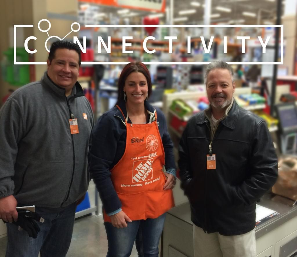 Crew2 on thanks for everything home depot store connection