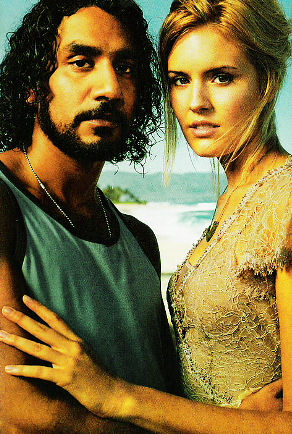 Sayid and Shannon - they were really a very cute couple ...