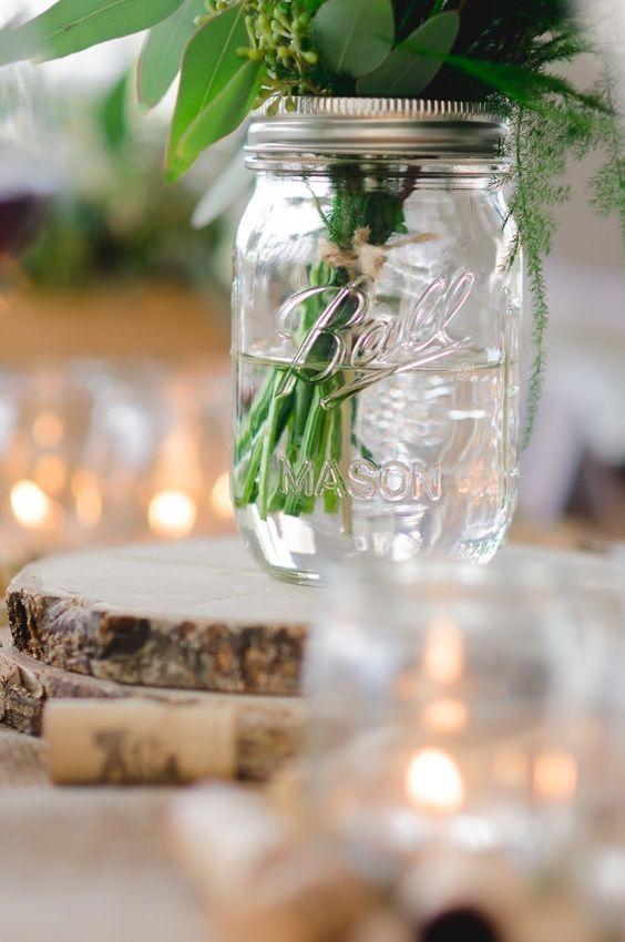 Outdoor Parties Vineyard Wedding Showers Weddings Mason Jars With Stock