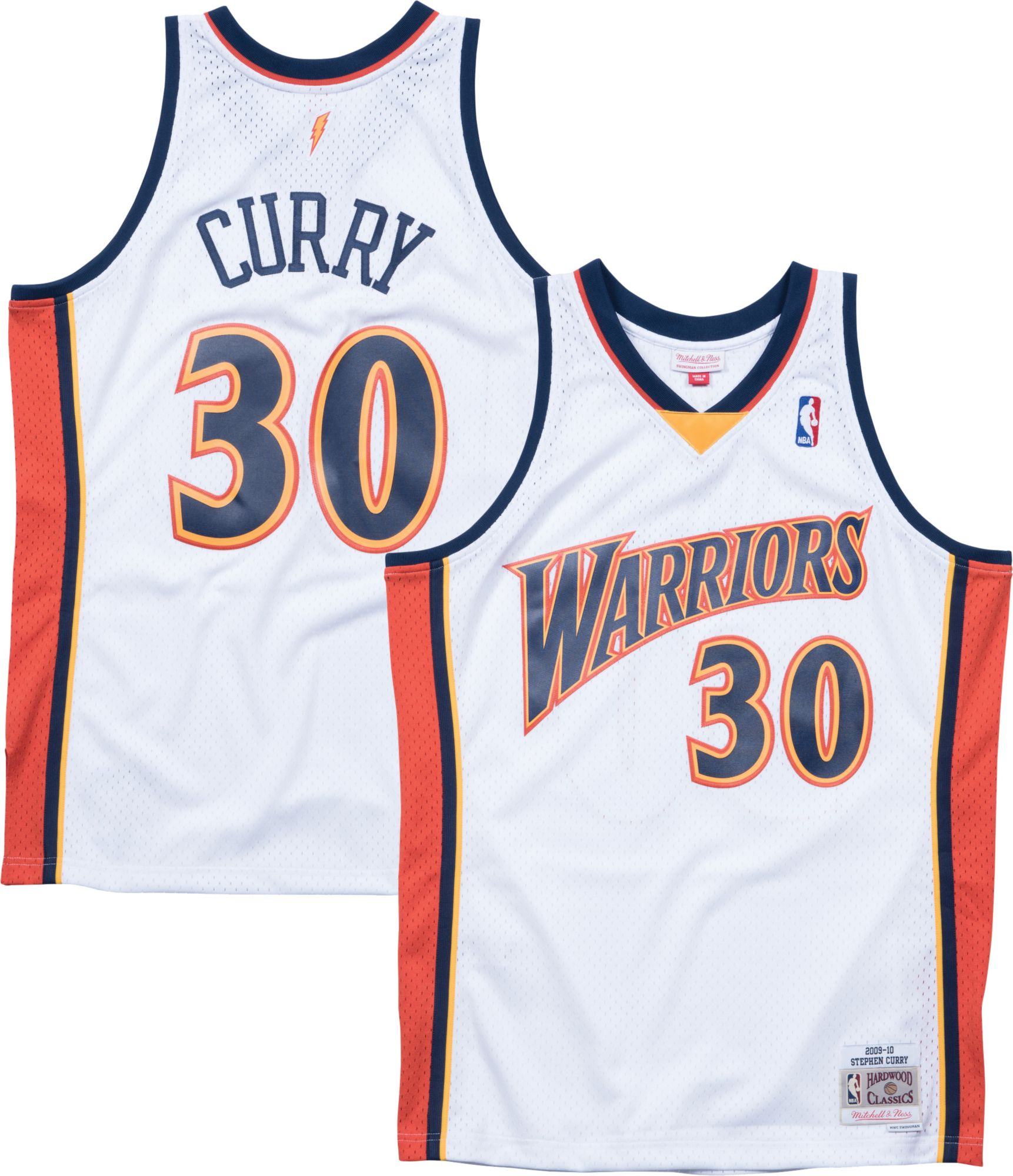 pretty nice 7d25e 40027 Mitchell & Ness Men's Golden State Warriors Stephen Curry ...