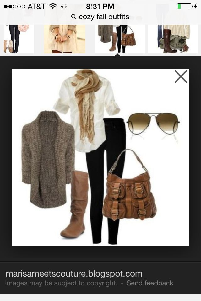Lovin the cute fall wardrobe!