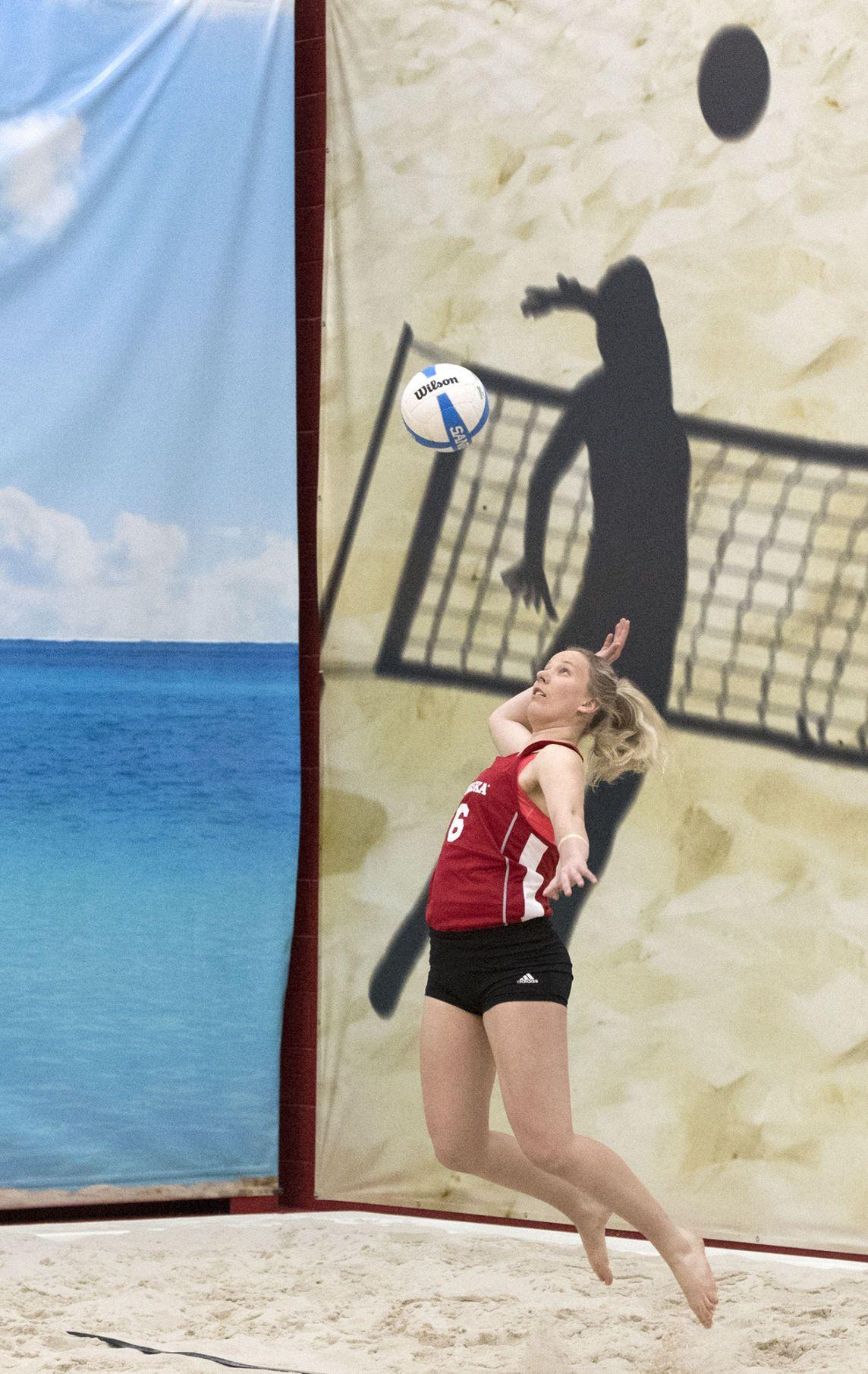 Nebraska Beach Volleyball Win Against Missouri Baptist Is Start Of Expanded Season Beach Volleyball Nebraska Volleyball