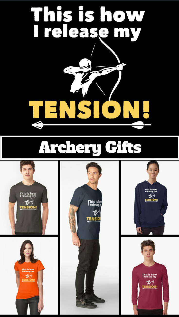 Archery Funny This Is How I Release My Tension Essential T Shirt By Kudostees Archery Quotes Archery Archery Tips